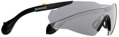 Browning Sound Shield Shooting Glasses Tinted W/Ear Plugs