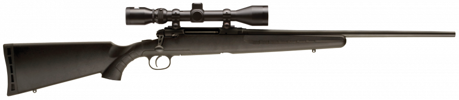 "Savage Axis XP (Scope Package) Synthetic Blue 22"" Barrel 243 Win"