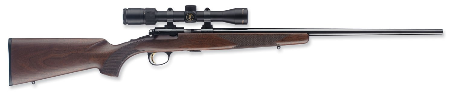 "Browning T-Bolt Sporter Walnut 22"" Barrel 17 HMR"