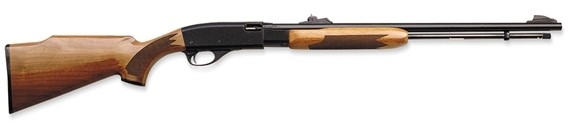 Remington 572BDL Deluxe .22S/L/Lr Pump Action Black Mc Walnut