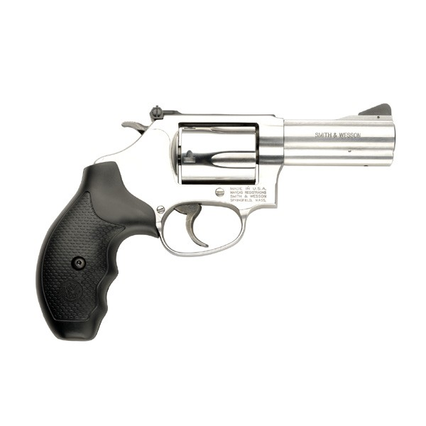 "Smith & Wesson 60 .357 3"" AS 5-Shot Ss Black Rubber"