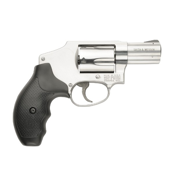 "Smith & Wesson 640 .357 2.125"" FS 5-Shot Stainless Steel Rubber"