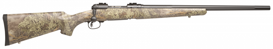 "Savage 10 Predator Black Synthetic Camo 24"" Barrel 22-250 Rem"