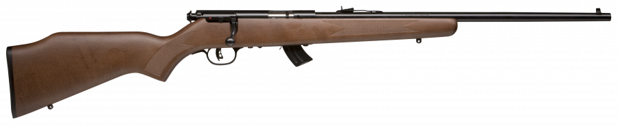 "Savage 93 G Wood Blue 21"" Barrel 22 Mag"