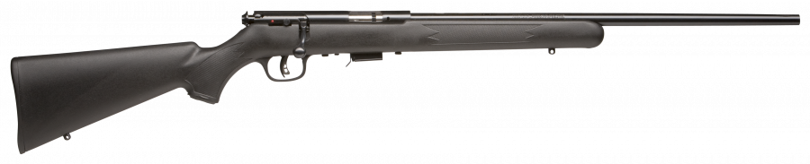 "Savage 93 F Synthetic Blue 21"" Barrel 22 Mag"