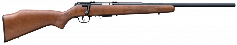 "Savage 93R17 GV Wood Blue 21"" Barrel 17 HMR"