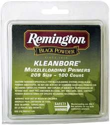 Remington Kleanbore 209 Muzzleloading Primers 2000