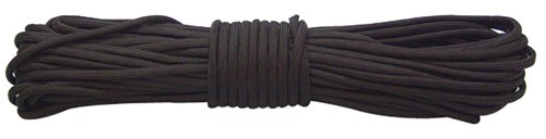 Red Rock 550 Parachute Cord 100 Feet Black