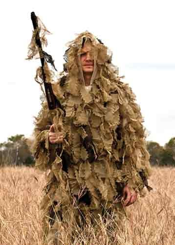 Red Rock Outdoor Gear Big Game Ghillie Suit Open Country Xl/Xxl 3 Pcs Leaf