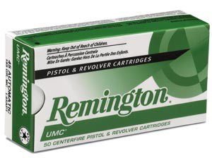 REMINGTON UMC 9mm Luger 115GR Jacketed Hollow Point