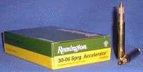 REMINGTON Express 30-06 Springfield Accelerator 55GR Pointed Soft Point