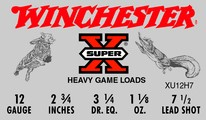 Winchester 12Ga Super-X Game & Field Loads 1-1/8 Oz #7-1/2 Shot