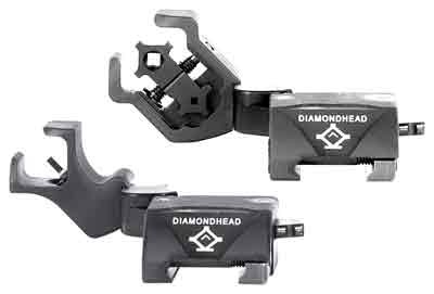 Diamondhead D45 Swing Sight Set Front & Back Flip-up Black