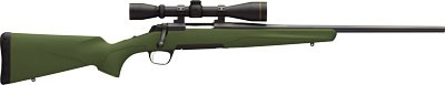 "Browning X-Bolt Carbine .270 Win 20"" Green Syn W/leupold 3-9x40mm"