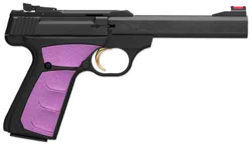 "Browning Buck Mark Plus Fuchsia 22LR 5.5"" AS 10Sh Black/Fuscia Syn"