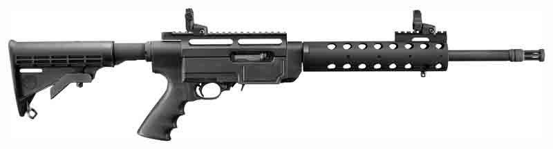 Ruger 10/22 .22LR AR-22 10-Sh Black Collapsible Stock