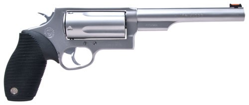 "Taurus Judge .45LC/410-3"" 6.5"" FS 5-Shot Stainless Rubber"