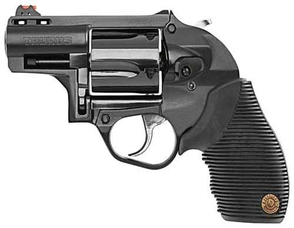 "Taurus 605 Polymer .357 2"" FS 5-Shot Blued Rubber Grip"