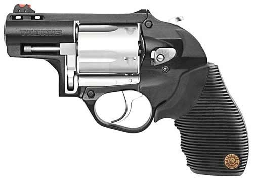 """Taurus 605 Protector Ply .357 2"""" FS Stainless/Black Rubber"""