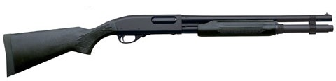"Remington 870 Express 12GA. 3"" 7-Sh 18"" Cylinder Matte Black Syn"