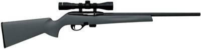 Remington 597 Syn Scope Combo .22LR W/3-9x32MM Black Grey Syn