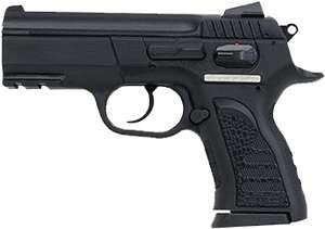 E.A.A. Witness P Compact .40SW 12Rd FS Black Polymer W/Rail
