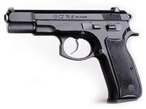 Cz 75-b 9mm Pistol Black Polymer