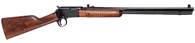 "Henry Pump Action Rifle .22WMR 20"" Octagon Bbl. Blued/Walnut"