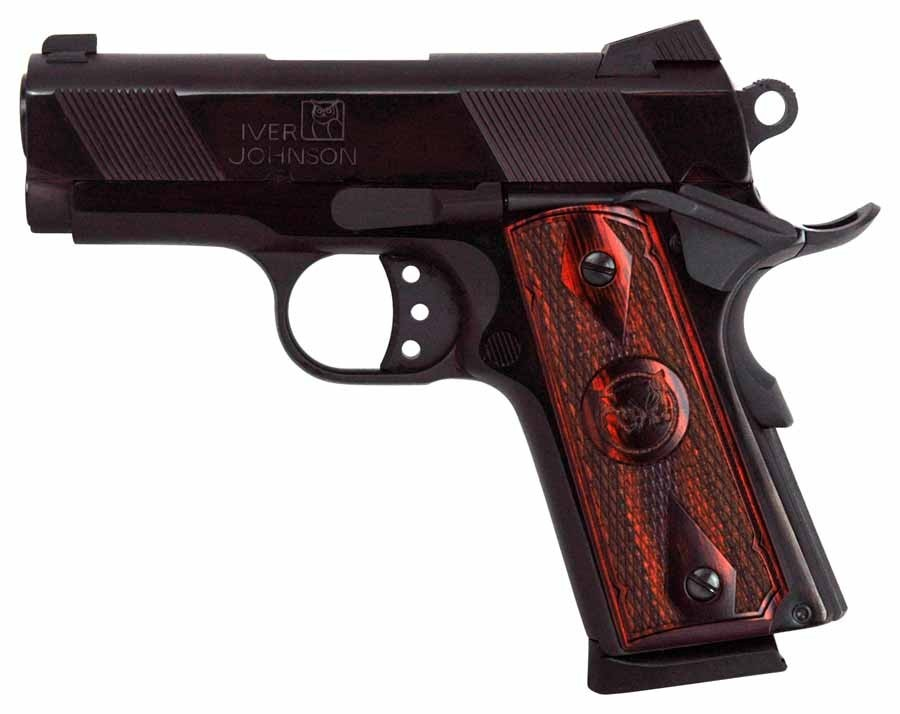 "Iver Johnson Arms 1911 Thrasher .45ACP 3.12"" FS 7-Shot Blued"