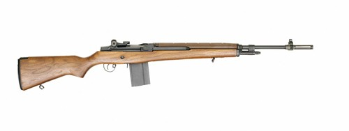 Springfield Standard M1A Rifle, 308 Win, Walnut Stock