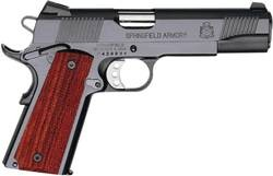 "Springfield 1911-A1 Custom Loaded Full Size Parkerized 5"" Barrel 45 Acp"