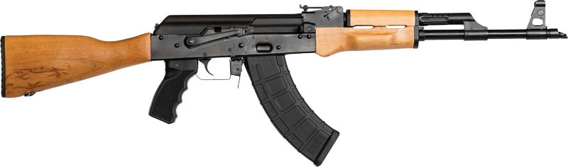 Ci Ras47s Stamped Ak-47 Rifle 7.62x39 Cal. With Scope Rail
