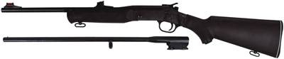 "Rossi/ Braztech Combo Youth .410 3"" W/.22LR Barrel Black Syn"