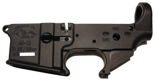 Anderson Manufacturing Stripped AR-15 Lower Receiver .223/5.56 Aluminum