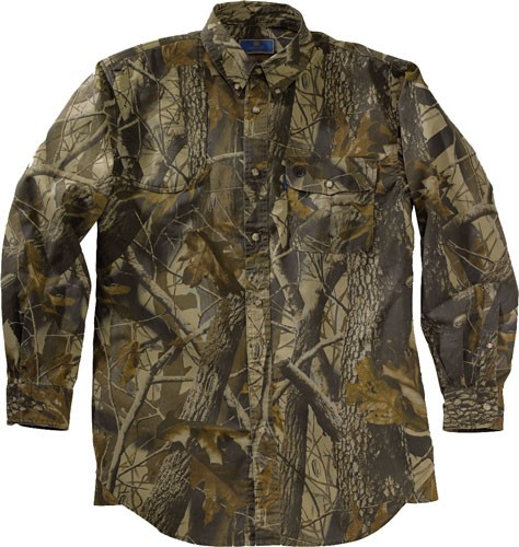 Beretta Shooting Shirt Medium Long Sleeve Cotton Rt-ap Camo