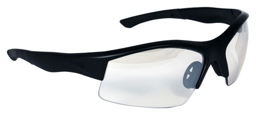 Smith & Wesson Performance 12-Pack Shoot Glasses Black Frame Clear Lens