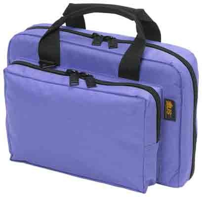 blue handbags purple range bags