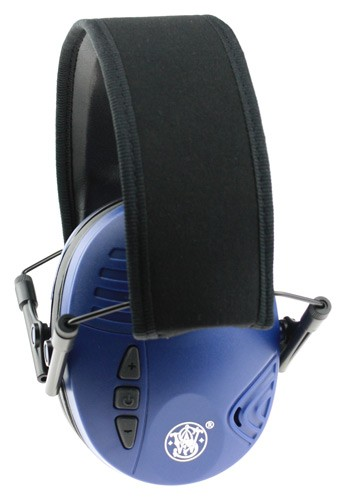 Smith & Wesson & Wesson Electronic Blue Ear Muff Nrr20