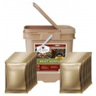 Wise 60 Serving All Meat Grab & Go Bucket Emergency Food Kit