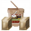 Wise Food Supply Freeze Dried Meat 60 Serving Tan Bucket