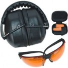 Bg Range Kit Eye & Hearing Protection Black