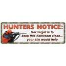 Rivers Edge Lg Sign Hunters Notice