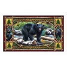 "Rivers Edge Door Mat 18""x30"" Bear"