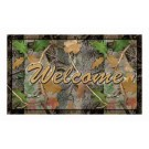 "Rivers Edge Door Mat 18""x30"" Welcome Cb Camo"