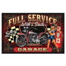"Rivers Edge Door Mat 18""x30"" Full Service Motorcyle"