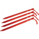 "Coleman 9"" Heavy Duty Aluminum Tent Stakes 4 Stakes Per Pack"