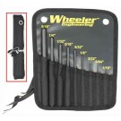 Wheeler 9-pc Roll Pin Punch Set W/storage Pouch