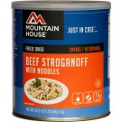 Mountain House #10 Can Beef Stroganoff W/ Noodles 10 Servs