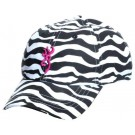Browning Safari Animal Print Cap For Her Zebra/fuchsia