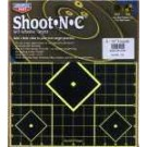 BIRCHWOOD CASEY TI-5 12&quot; x 12&quot; SIGHT IN SHOOT-N-C